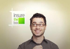 Man insurethebox logo