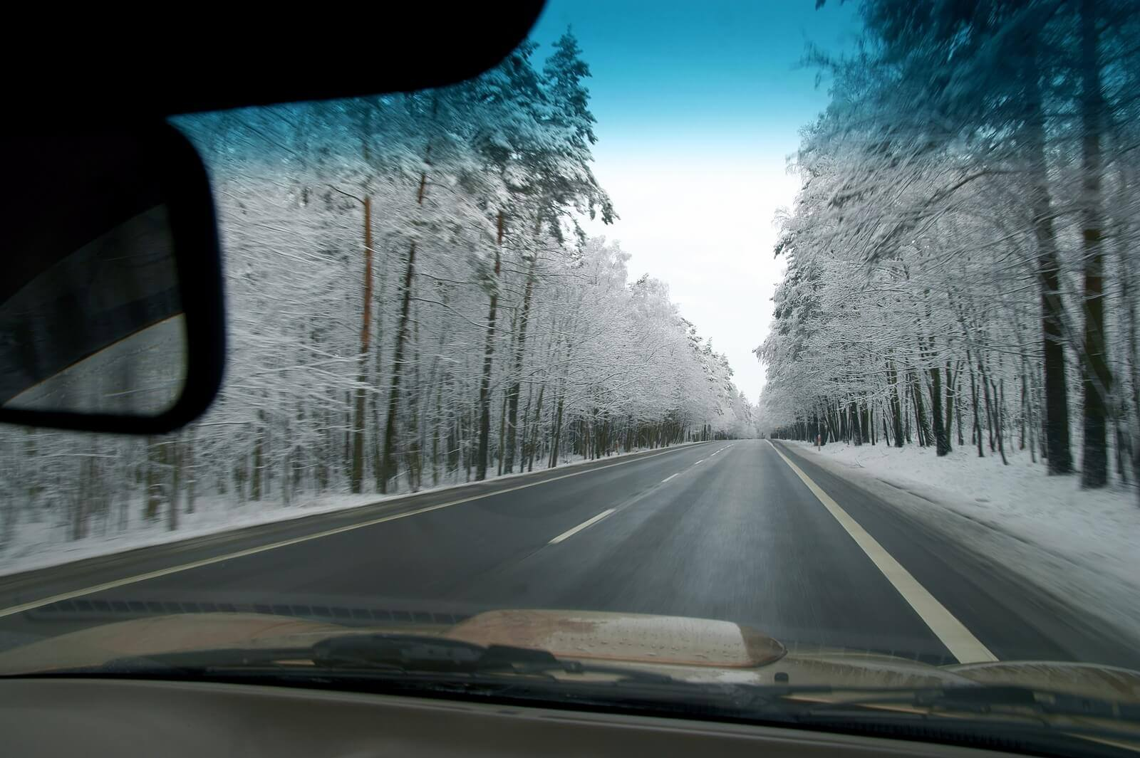 Driving in snow and ice