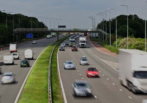 motorway darker blur